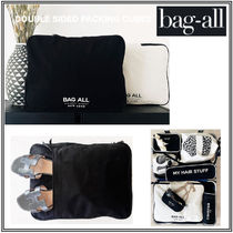 Bag all(バッグオール) トラベルポーチ 【Bag-all】関送込 DOUBLE SIDED PACKING CUBES