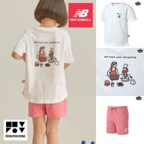 【new balance】x zeroperzero KIDS Tシャツセット アイボリー