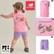 【new balance】x zeroperzero KIDS Tシャツセット ピンク