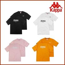 ◆Kappa◆ Authentic Back Lettering T-Shirt 4色 (KLRS291MD)