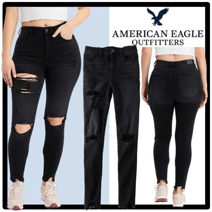 American Eagle Outfitters デニム・ジーパン ★送料・関税込★American Eagle★Denim Jagging Destroy Pants