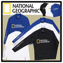 ★送料・関税込★National Geographic★BIG LOGO RASHGUARD★