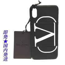 VALENTINO iPhone X・XS SY2P0379PCR_NER ブラック×WH(新品)