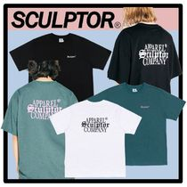 SCULPTOR(スカルプター) Tシャツ・カットソー ☆送料・関税込☆SCULPTOR★Gothic Logo Tee★3色★