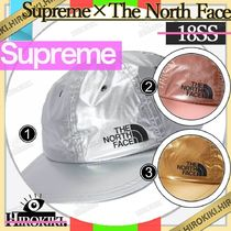 18SS /Supreme The North Face Metallic 6-Panel Cap メタリック