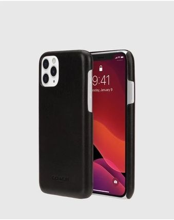 Coach iPhone・スマホケース 【COACH】Leather Slim Wrap Case for iPhone 11/11pro/11promax(7)