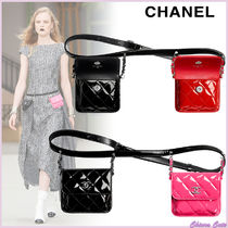 【20SS NEW】CHANEL_women / ウエスト バッグ / PINK/RED