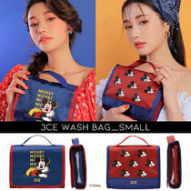 【3CE】ディズニーコラボ WASH BAG_SMALL #BLUE #RED [送料無料]