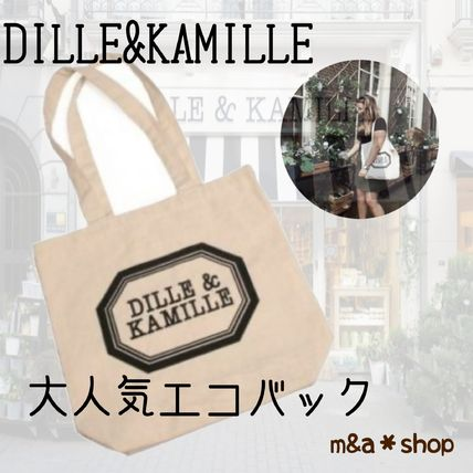 DILLE & KAMILLE エコバッグ 【オランダ限定】DELLE&KAMILLE ディル&カミーユ エコバッグ