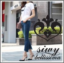 Siwy★Bellissima Ankle Flare Jeans カットオフ スキニーデニム
