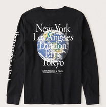 Abercrombie&Fitch Long-Sleeve City Graphic Teeロングスリーブ