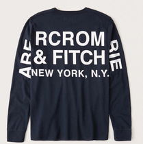 Abercrombie&Fitch Long-Sleeve Logo Tee ロングスリーブ