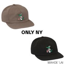 ONLY NY(オンリーニューヨーク) キャップ ONLY NY Gator The Painter Hat 刺繍入りハット キャップ 2色