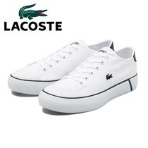 ☆LACOSTE ラコステ☆GRIPSHOT 120 2 WHT/NVY 国内発送 正規品