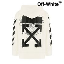 OFF WHITE DRIPPINGパーカー