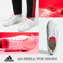 注目のコラボ★Adidas×424★424 SHELL-TOE SHOES★