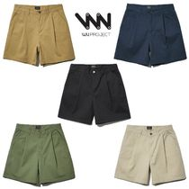 ★WV PROJECT★日本未入荷 韓国 Mine cotton short pants 5色