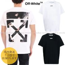 国内即発★OFF WHITE★CARAVAGGIO ARROW S/S Tシャツ 2カラー♪