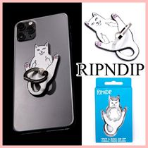 RIPNDIP Lord Nermal Phone D-Ring スマホリング White 送料込み