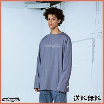 [MAHAGRID] OUTLINE LOGO LS TEE BLUE(MG2ASMT550A)
