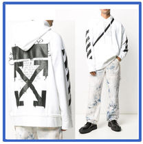 [送料・関税込み]off white Dripping Arrows パーカー(white)