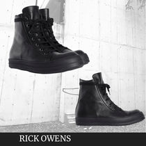 RICK OWENS  LARRY HIGH-TOP SNEAKERS