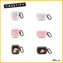 ☆Casetify☆ Air Pods  リングケース Cheetah Portrait ♪
