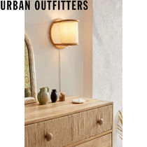 Urban Outfitters  Marcella Rattan Sconce 壁掛けランプ 照明