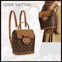 【Louis Vuitton】ドーフィーヌ・バックパック 直営店◆追跡