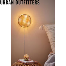 Urban Outfitters  Lexi Sconce ラタン 壁掛けランプ 照明
