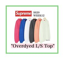 Supreme Overdyed L/S Top SS20 WEEK12