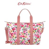 CATH KIDSTON PAINTED PANSIES FOLDAWAY OVERNIGHT バッグ L