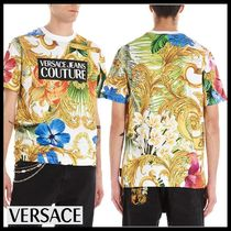 【Versace Jeans Couture】Tシャツ 半袖 バロック クルーネック