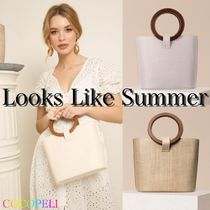 【Looks Like Summer】CONSTANCE ラタンバッグ◆関税・送料込み