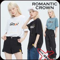 【ROMANTIC CROWN】GNAC FRAME LOGO TEE★安全発送 3色