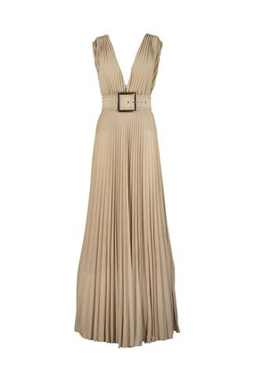 ELISABETTA FRANCHI ボレロ・ショール ★関税込み★送料無料Long Dress With Side Slit(2)