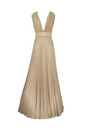 ELISABETTA FRANCHI ボレロ・ショール ★関税込み★送料無料Long Dress With Side Slit(3)