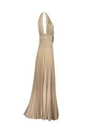ELISABETTA FRANCHI ボレロ・ショール ★関税込み★送料無料Long Dress With Side Slit(4)