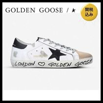 国内発送★GOLDEN GOOSE★Superstar Z14 star-embroidered