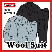 Supreme Wool Suit ウール スーツ SS 20 WEEK 12