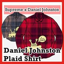 Supreme X Daniel Johnston Plaid Shirt SS 20 WEEK 12