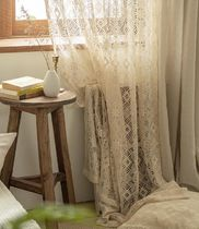【DECO VIEW】Irene knitting lace long window curtain