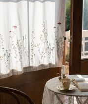 【DECO VIEW】French embroidery curtain