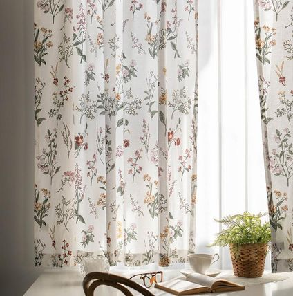 DECO VIEW カーテン 【DECO VIEW】Plenflower Small Window Curtain