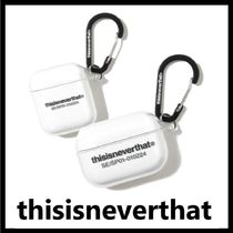 ★THISISNEVERTHAT★2020人気新商品★T-Logo AirPods Case Clear