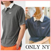Only NY Court Terry Cloth ポロシャツ 2色 Charcoal Navy