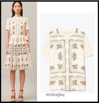 【Tory Burch】★SALE★花柄★SHORT-SLEEVE PRINTED PULLOVER