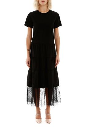 RED VALENTINO ボレロ・ショール ★関税込み★送料無料Red Valentino Long Dress With Tulle(2)
