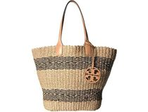 【SALE】Tory Burch Miller Straw Stripe Tote