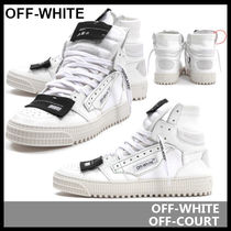 【Off-White】HIGH TOP SNEAKERS
